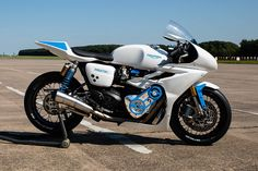 "Triumph Motorcycles Thruxton R ""White Bike"" at Glemseck 101 - Germany"