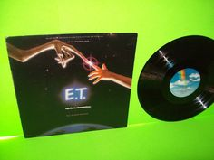 John Williams E.T. The Extra-Terrestrial Music From The Motion Picture LP Record #AnimationScoreSoundtrackFilmScoreSoundtrack