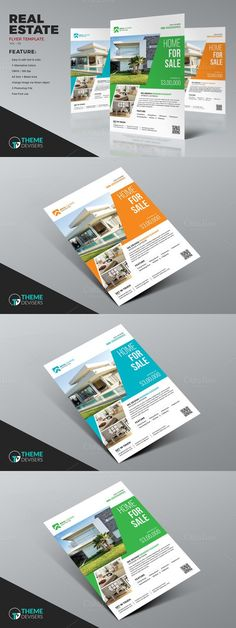 Real Estate Business Flyer Template