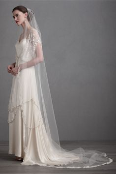 Curving Periphery Veil from BHLDN
