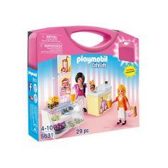 Coś dla Dziewczynek od Playmobil na 2015 rok.   Playmobil 5631 - Przenośna Skrzynka Cukiernia z Akcesoriami do sprzedaży. Zestaw zamknięty jest w wygodnej przenośnej walizce.   Co kryje się w zestawie? Sprawdźcie sami:)  #playmobil5631 #playmobil #zestawplaymobil #zabawkiplaymobil #playmobil2015 #cukierniaplaymobil #zabawki #krakow