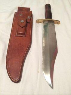 1960's RANDALL MADE KNIFE MODEL 12-11 - SMITHSONIAN BOWIE - MINT - $1900 LA