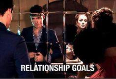 Goals #blairwaldorf #chuckbass #fashion #gossipgirl #love #perfectcouple #relationshipgoals