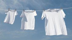 How To Remove Colors That Bleed Onto Whites Tide Laundry Commercial White Things white color laundry Remove Armpit Stains, Arm Pit Stains, Sweat Stains, White Tee Shirts, White Tees, Bleaching Clothes, Grand Menage, Laundry Hacks, White Outfits
