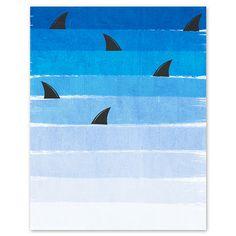 Shark week by Charlotte Winter
