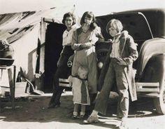 Dorothea Lange Dust Bowl   Dust Bowl family (Dorothea Lange photo)