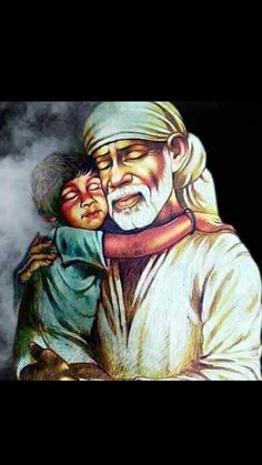 Sai Baba always says that how it is going to happen is not your concern. You just surrender. Sai Baba Pictures, God Pictures, Shree Ram Images, Shirdi Sai Baba Wallpapers, Sai Baba Hd Wallpaper, Saints Of India, Sai Baba Quotes, Baba Image, Sathya Sai Baba