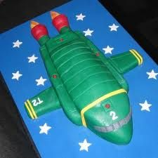 thunderbirds party Baby Birthday, Birthday Parties, Birthday Cakes, Birthday Ideas, Thunderbirds Cake, Kids Party Themes, Party Ideas, Space Party, Cakes For Boys