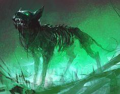 mitologiayleyendas:  Demon Dog  by ArashRadkia.