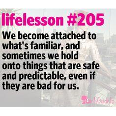 Little Life Lesson #205: Comfort   GirlsGuideTo