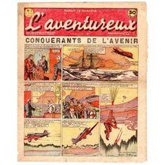 L'aventureux 1ère Année 1936 N° 2 : Conquérants De L'avenir