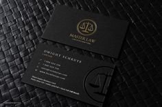FREE Lawyer business card template | RockDesign.com