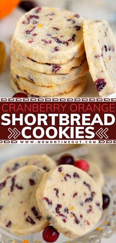 Easy Cookie Recipes, Baking Recipes, Dessert Recipes, Very Easy Cookie Recipe, Best Cookie Recipe Ever, Cookie Ideas, Cranberry Cookies, Cranberry Recipes, Holiday Baking