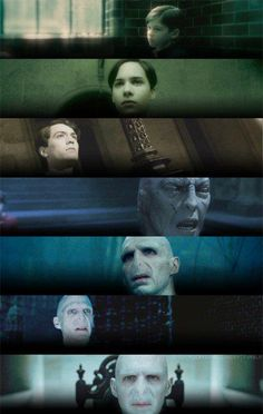 Tom Marvolo Riddle Evolution
