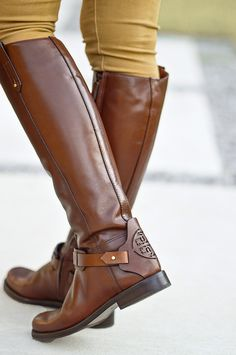 0fa62aa2725928 New Tory Burch Derby Riding Boot