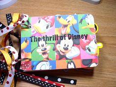 Disney Mini Album Chipboard Scrapbook