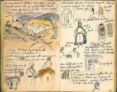Eugène Delacroix - Carnet de voyage au Maroc