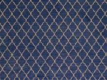 Brockhall Designs Ottoman Chenille Navy Fabric - Curtains and Upholstery - The Millshop Online #fabric