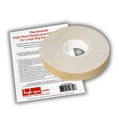 Nomex High Heat Gasket with Adhesive Upgrade Kit for Large Big Green Egg Grill - http://www.outdoorcookinggrills.com/nomex-high-heat-gasket-with-adhesive-upgrade-kit-for-large-big-green-egg-grill/