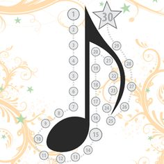 music practice chart eighth note More