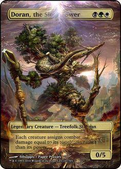 Magic The Gathering Doran, the Siege Tower Proxy