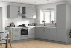Match flooring and wall paint with our new Room Visualiser to find your perfect combination B&q Kitchens, 1920s House, New Room, Kitchen Cabinets, Flooring, Diy, Home Decor, Decoration Home, Bricolage