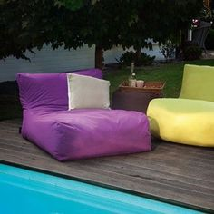 #Outdoor #Sitzsack von Outbag - New Lounge: Plus Purple
