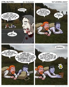Plants vs. Zombies - Not a practical plan for fighting zombies.