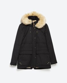 SHORT QUILTED JACKET - Parkas - Outerwear - WOMAN | ZARA Turkey