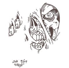 Zombie Tattoo Design By Crash2014 On Deviantart Design 600x586 Pixel