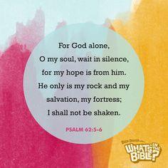 Psalm 62:5-6