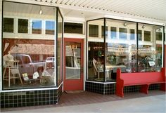 The Red Door Mangum Mall and coffee Shop