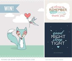 Cute baby posters. Print and have around party?
