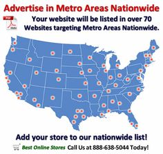 Advertise in Metro Areas Nationwide Marketing Websites, Marketing Companies, Internet Marketing, Social Media Marketing, Best Online Stores, Online Fashion Stores, Advertising, Ads, Search Engine Marketing