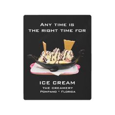 Ice Cream Metal ART for Home or Business