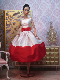 Peppermint Party Dress by Bellissimacouture on Etsy