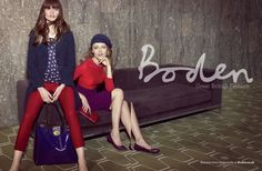 Gemma Booth shoots the FW12 Bodenad campaign