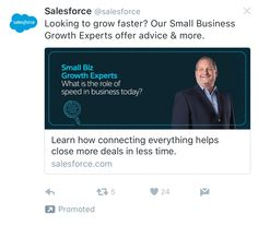 Salesforce Twitter Ad Example Advice, Ads, Learning, Twitter, Business, Tips, Studying, Teaching, Store