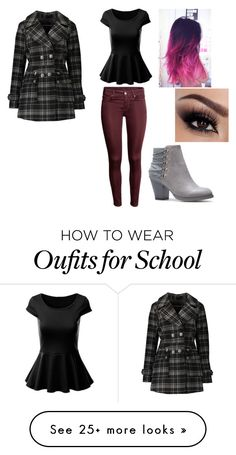 """""""Back to a new school?"""" by allygagne on Polyvore featuring Urban Republic"""