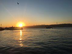 İstanbul au lever du soleil 🌤
