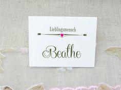 Namensschilder Tischkarten Hochzeit Romantik von Papierwiese auf DaWanda.com