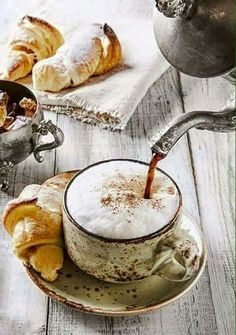 Comfort in a cup of coffee~