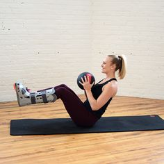 8 Ways to Get Amazing Abs with a Medicine Ball