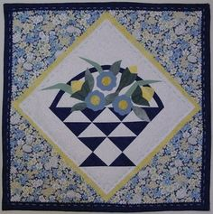 Fun & easy pattern for beginner or advanced quilters and crafters.