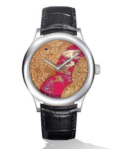 Van Cleef & Arpels montre Cadran extraordinaire Ryusui http://www.vogue.fr/joaillerie/shopping/diaporama/l-invitation-au-voyage-montres-metiers-d-arts-japonisants/16840/image/894066#!van-cleef-amp-arpels-montre-cadran-extraordinaire-ryusui