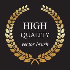How to Create a Golden Laurel Wreath Vector in Illustrator