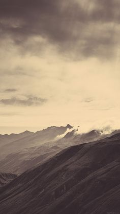 freeios8.com - mr24-mountain-art-fog-nature - http://freeios8.com/mr24-mountain-art-fog-nature/ - iPhone, iPad, iOS8, Parallax wallpapers
