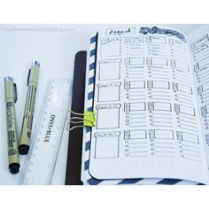 My new monthly layout. Not perfect, I was trying out something completely new. Heavy on the ruler here you guys, lots of lines, lots of work, but I figure it will be worth it because it is for the entire month. | bullet journal | bullet journal junkies | bullet journal junkie | bullet journaling | journaing | planner spread | planner | planning | bujo | bujo junkies | buko junkie |