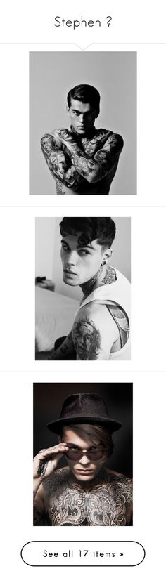 """Stephen 🔥"" by worthless-anons ❤ liked on Polyvore featuring stephen james and boys"