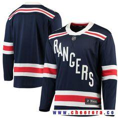 508674478 New York Rangers Fanatics Branded 2018 Winter Classic Breakaway Blank Jersey  - Navy (Blue)